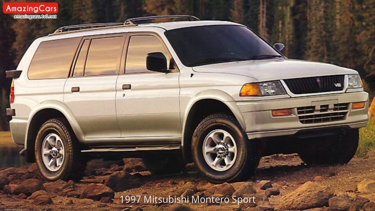 1997 mitsubishi montero sport