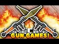 Minecraft HUNGER GAMES WITH GUNS! #1 - w/Preston, Jerome & Choco
