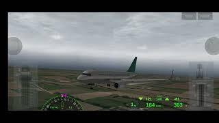 《Landing an Airbus A310 at Mos…