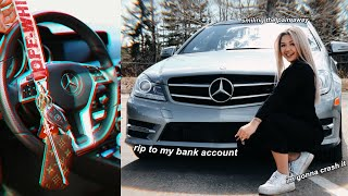 buying-a-mercedes-benz-at-16-vlog