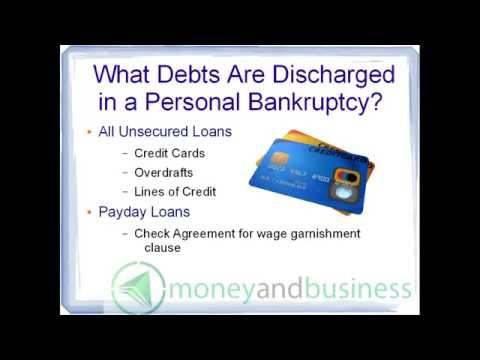 Bankruptcy In Canada Video 5: What Debts Are Discharged? How To Locate A Trustee