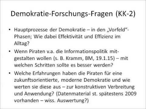 150129 KK NB zur AG Demokratieforschung