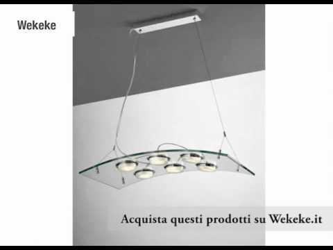 lampadari sospesi moderni : Lampadari a Sospensione su Wekeke.it - YouTube