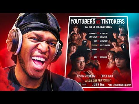 This Youtube Vs TikTok Boxing Event is... - JJ Olatunji