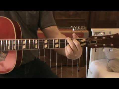 Unknown Japan Hummingbird Lawsuit Acoustic Guitar 1965-1970 Soundcheck