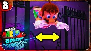 Ganz knappe Sache! 🌍⭐️ Super Mario Odyssey Superstar Mode #8