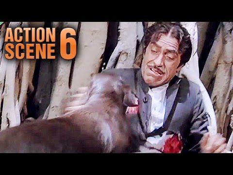 Moti (Dog) KILLS Amrish Puri | Teri Meherbaniyan | Jackie Shroff | Action Scene 6 Of 6 | HD