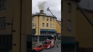 Incendio della canna fumaria al Girarrosto di Sieci