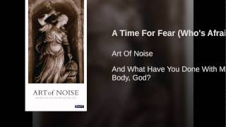 A Time For Fear (Who