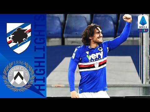 Sampdoria 2-1 Udinese   Decide il neoacquisto Torregrossa   Serie A TIM