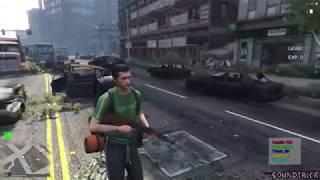 [ GTA V ONLINE ZOMBIE SURVIVAL ROLEPLAY ] NPC GUARDS PROTECTING BASE 1 [ FIVEM SERVER ]