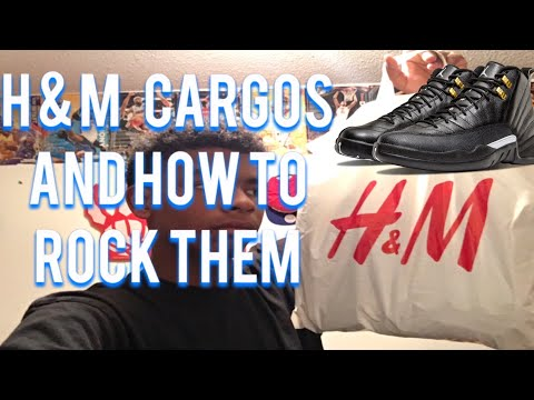 H&M CARGOS REVIEW//HOW TO ROCK THEM!