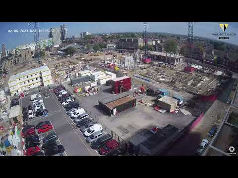 Time-lapse images of our work at Gascoigne,