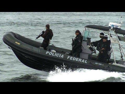 Policia Federal - Nepom - Fronteiras - Police Brazil - HD