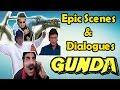 Gunda - A Tale Of Rhymes | Mithun Chakraborty, Shakti Kapoor | Epic Scene And Dialogue | Rongo Masti video