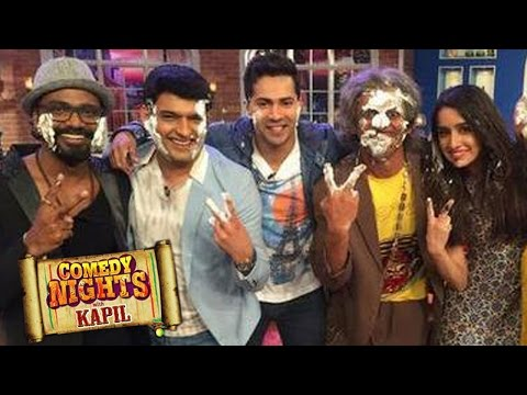 Comedy Nights with Kapil | Varun Dhawan, Shraddha Kapoor promote ABCD 2| 7th June 2015 Episode