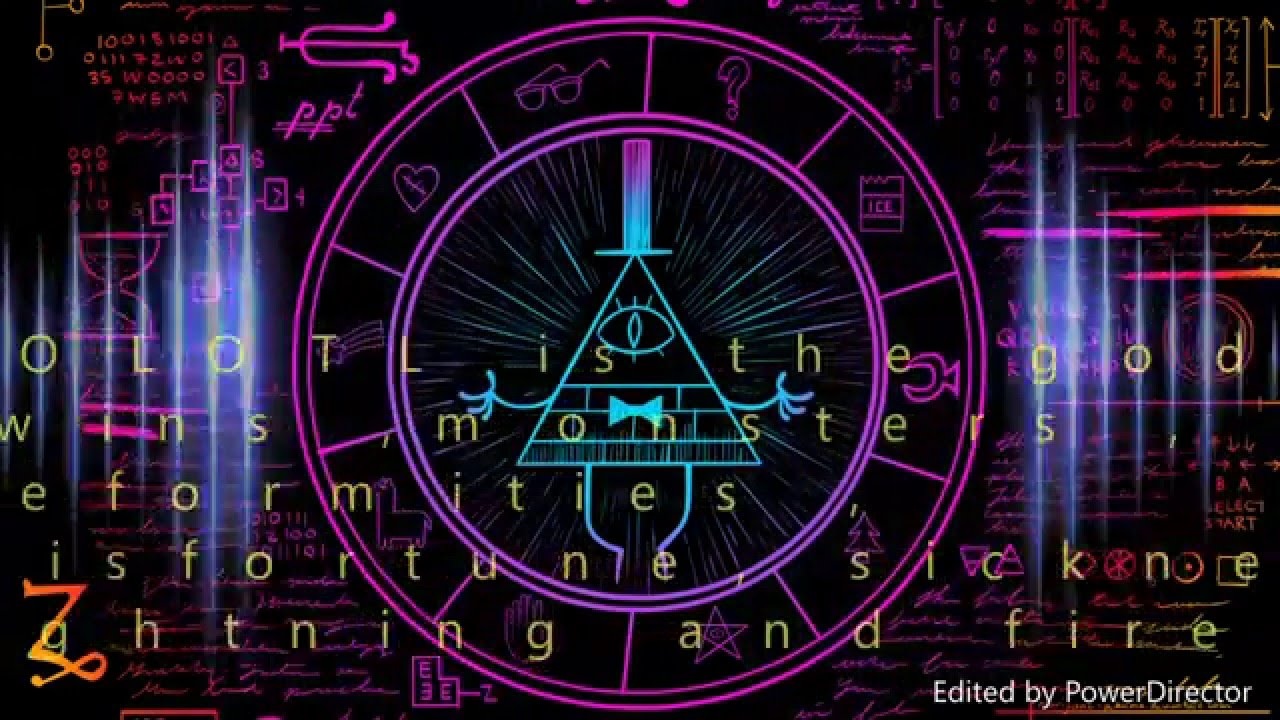 Gravity Falls Wallpaper Hd Gravity Falls Bill Cipher Message Theory Major Spoilez