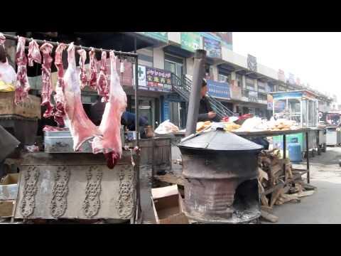Small Uyghur market 150km East of Hotan