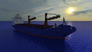 Minecraft Cargo Ship- Ocean Atlas [Full Interior][+Download]