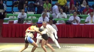 Сумо.Чемпионат мира по Сумо 2014 ( THA vs. USA) Женщины