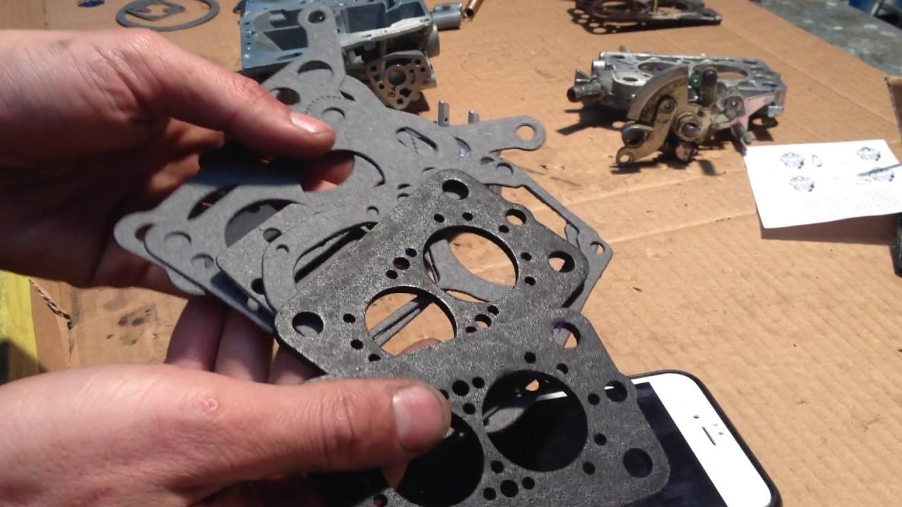 mitsubishi astron 4g52 sigma carburettor rebuild / mikuni solex part 2