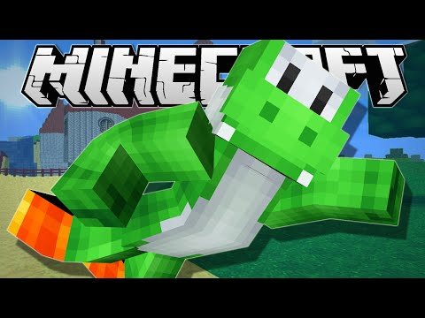 Minecraft | BECOME YOSHI!! | One Command Creation