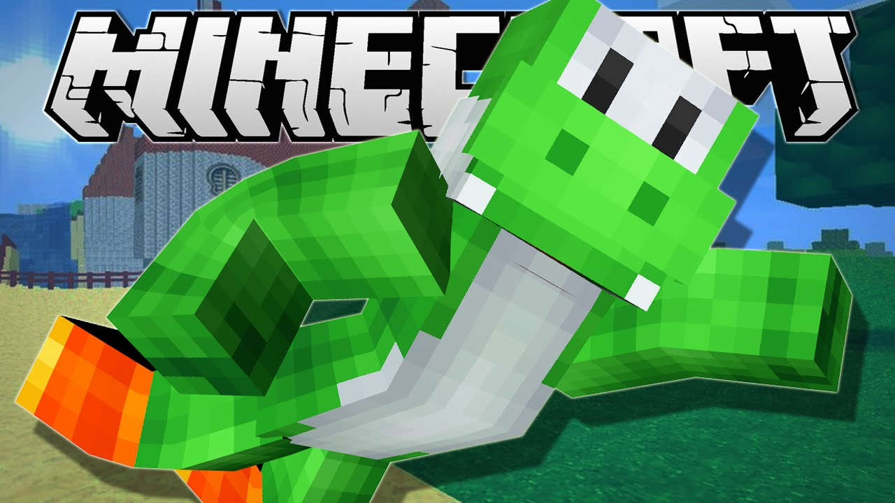 Minecraft BECOME YOSHI One Command Creation YouTube - Yoshi skin fur minecraft pe
