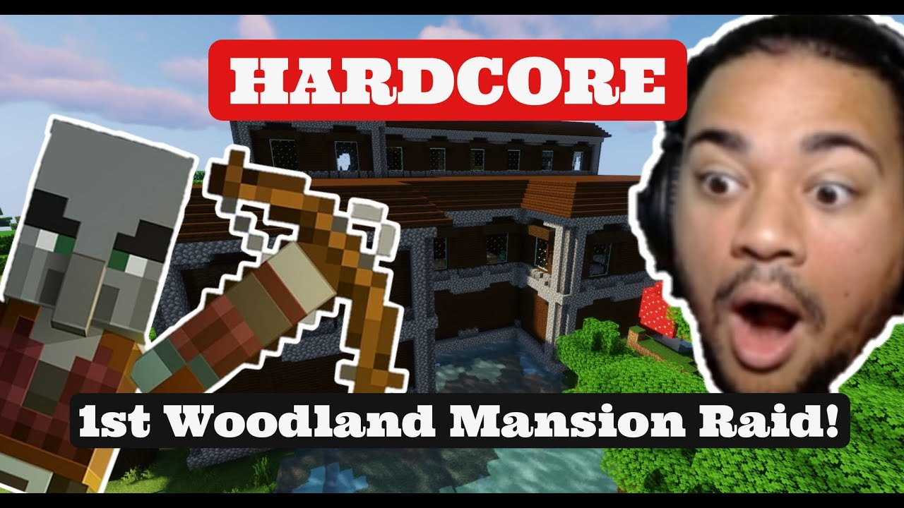 I did my first Woodland Mansion raid....on Hardcore...with NO ARMOR!!