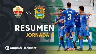 Resumen de Elche CF vs CF Fuenlabrada (0-2)