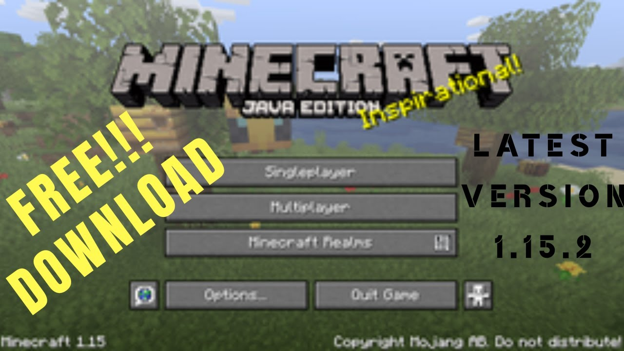Download Minecraft Java 1 15 Free Skins Also Available No Root Or Authentication Required Youtube