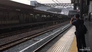 キハ261系甲種輸送 京都にて