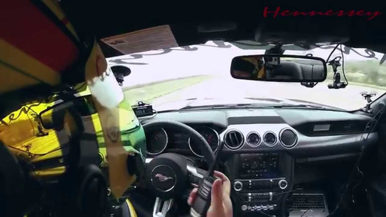 2015 hennessey mustang rockets to 195 mph short video. Black Bedroom Furniture Sets. Home Design Ideas