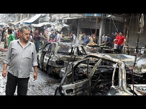 Syrian government rockets kill 18 people in Aleppo