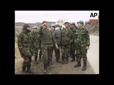 BOSNIA: INDONESIAN PEACEKEEPERS SOON TO FINISH THEIR MISSION