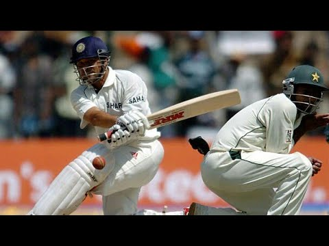 India vs Pakistan  best test match ever  2005