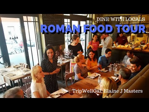 Rome Food Tour - A night out with locals