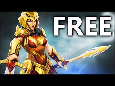 FREE Striker Wonder Woman Gameplay | DC Legends
