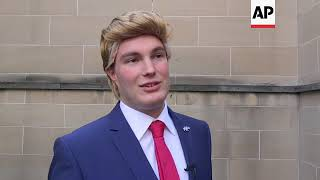 comedians mock donald trump at edinburgh fringe festival
