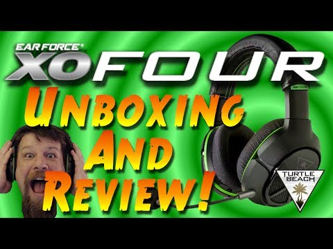 Turtle Beach XO FOUR Review and Unboxing - XBOX ONE Gaming Headset Review - XBOX ONE Headset Adapter