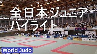 全日本ジュニア  ハイライト Highlights  柔道 JUDO