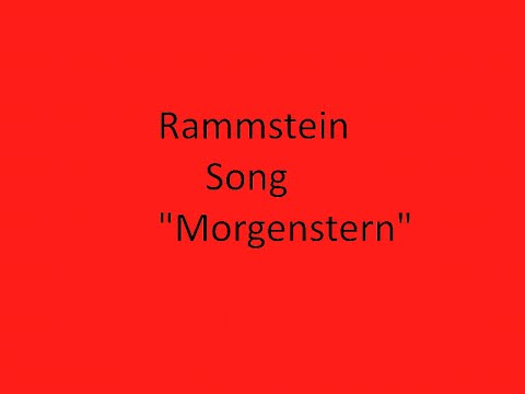 Rammstein Morgenstern Lyrics