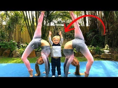 Teaching our nephew Acro/Gymnastics! thumbnail