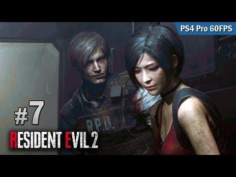 #7 進入 Umbrella 生化實驗室 | Biohazard RE:2  (Resident Evil 2 remake) PS4 Pro 60 FPS