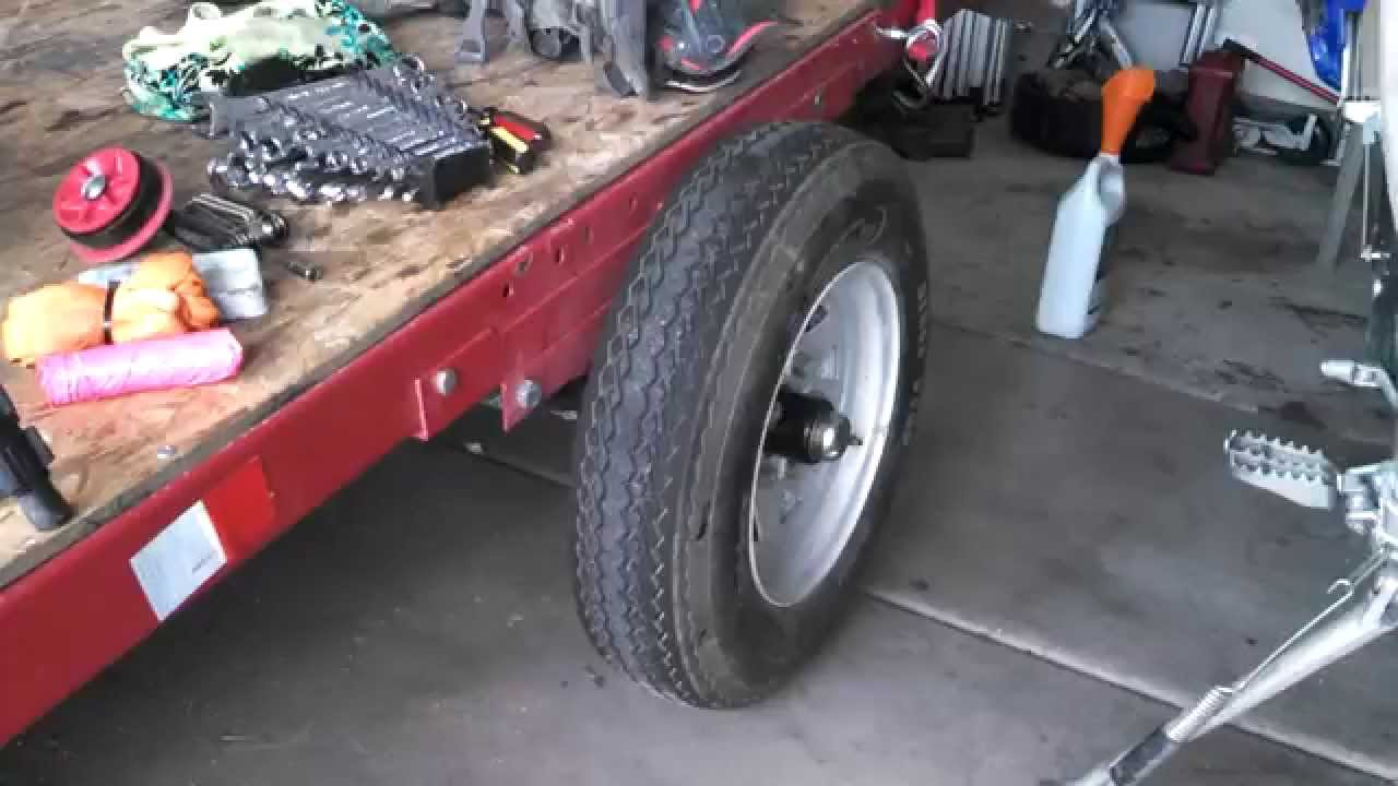 Harbor Freight Trailer Review MOD For 2 Dirt Bikes