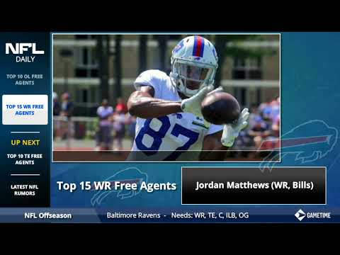 Top 15 NFL Free Agent Wide Receivers In 2018