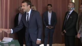 Fransa'da Cumhurbaşkanı Macron Oyunu Kullandı