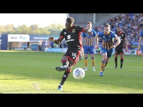HIGHLIGHTS: Shrewsbury Town 0-1 MK Dons