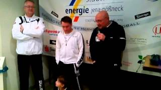 Pressekonferenz SV Hermsdorf vs. HC Aschersleben Alligators