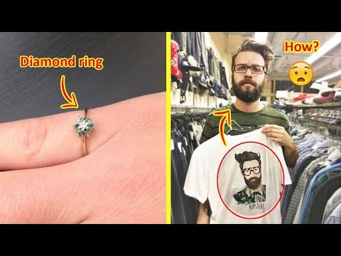 Unbelievable Examples Of Lucky People Who Found The Best Things In Thrift Stores