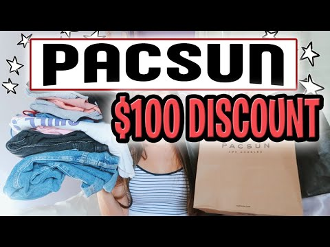 $100 Pacsun Promo Code 2020 🤑 SAVE $100 @ Pacsun In Under 5 Minutes! AUGUST 2020! 🛍️